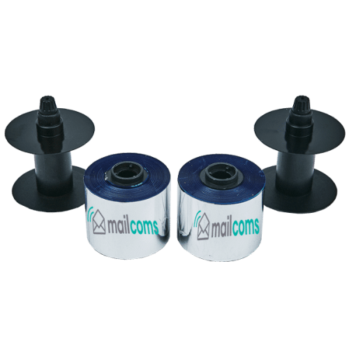 Frama Accessmail / Ecomail / Officemail Compatible Blue Ink Ribbons