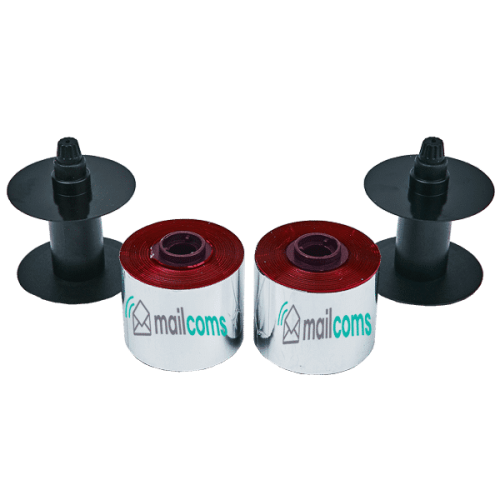 Frama Accessmail / Ecomail / Officemail Compatible Red Ink Ribbons