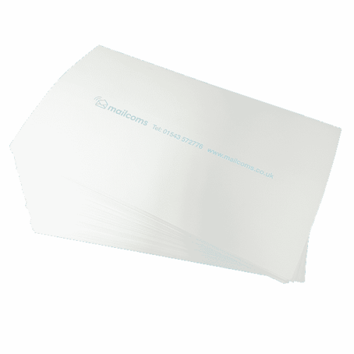500 Pitney Bowes SendPro C Long (175mm) Double Sheet Franking Labels (250 Sheets)